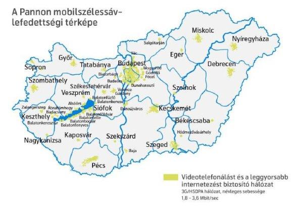 balaton térkép városokkal Hazai mobilinterkörkép   Mobilarena Szolgáltatások teszt balaton térkép városokkal