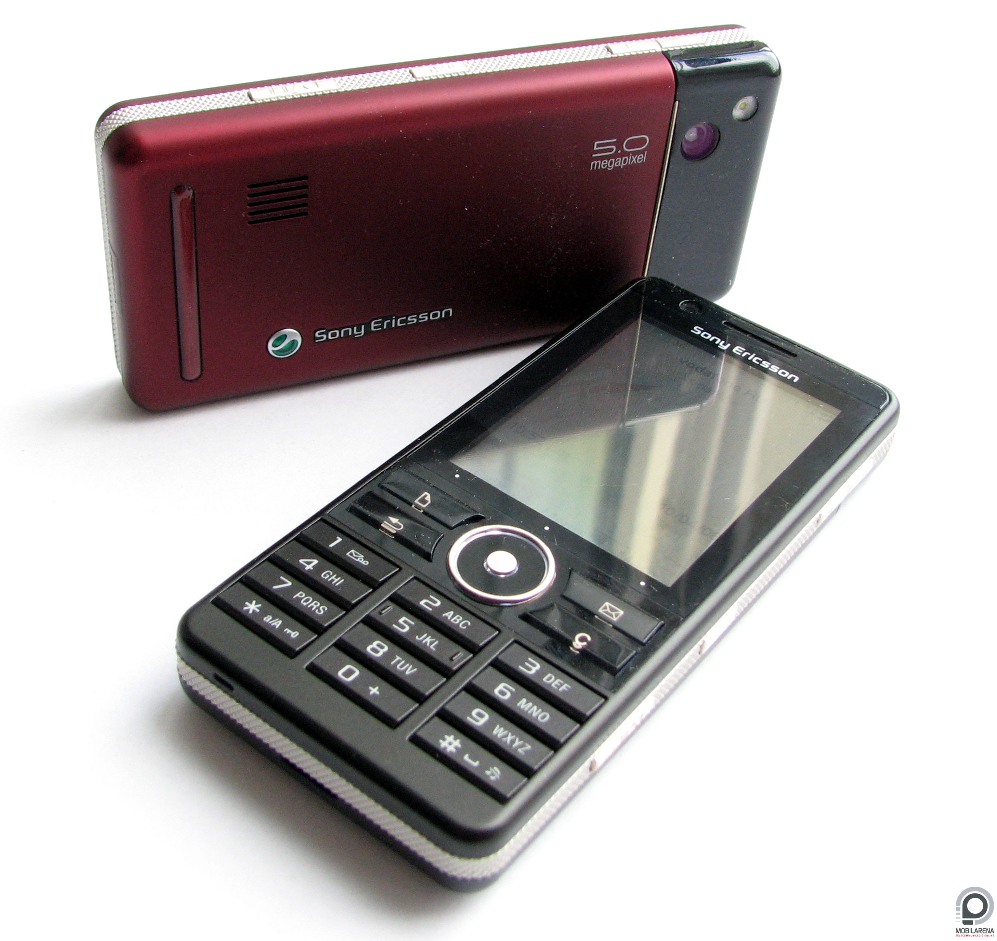 Sony Ericsson G900 - touching in focus