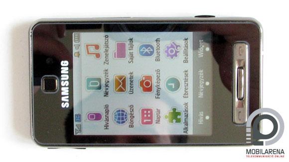 hell naptár Samsung F480   Widget Jones   Mobilarena MobileArsenal teszt  hell naptár