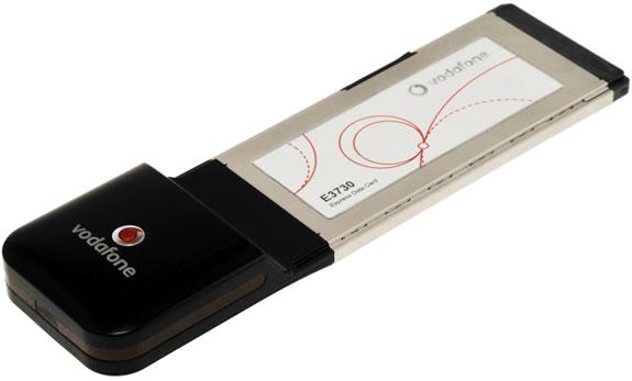 Option HSPA kártya a Vodafone-nak