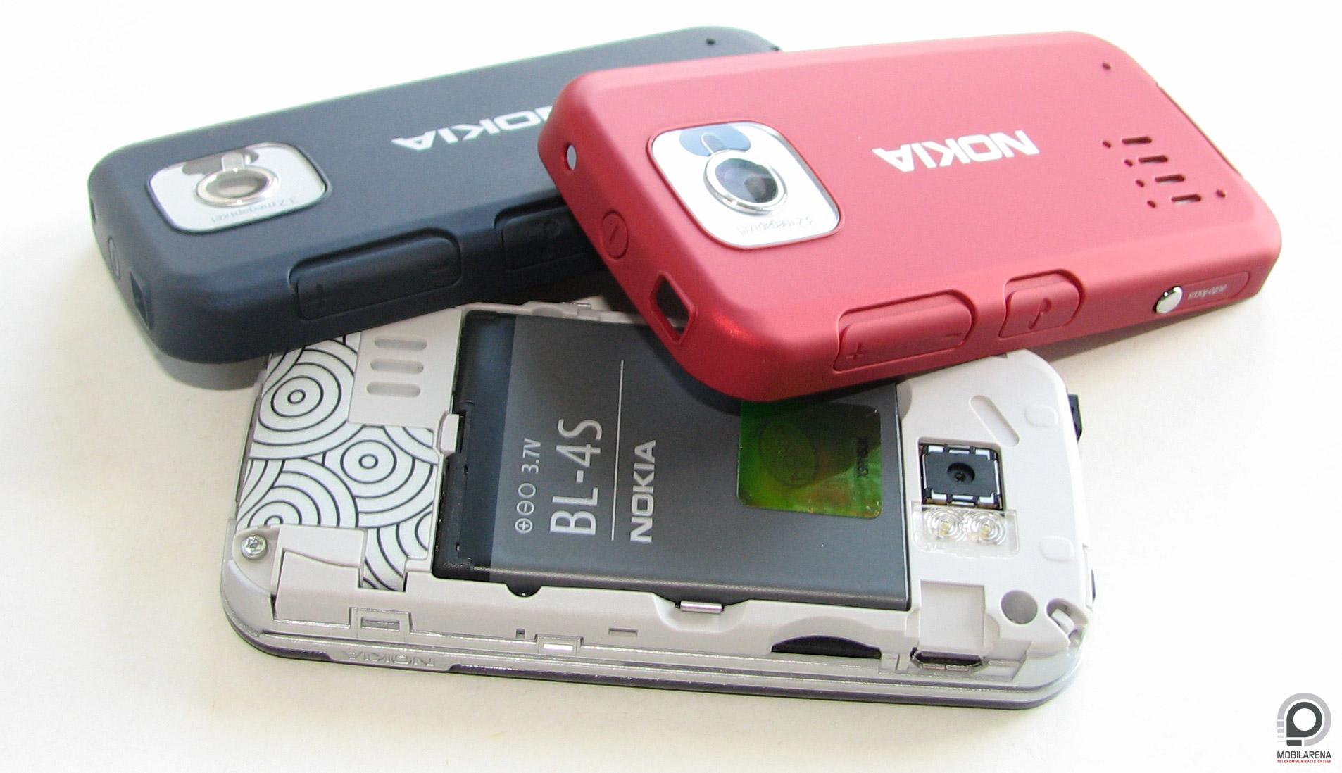 Nokia 7610 Supernova - color orgy - Mobilarena MobileArsenal teszt