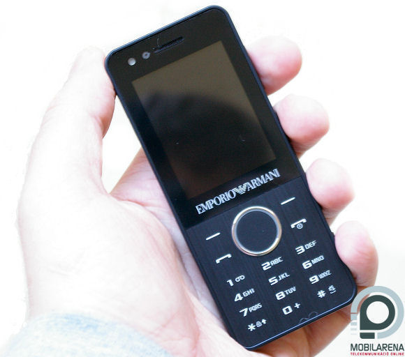 Samsung M7500 Emporio Armani. The handset arrived in a classy package