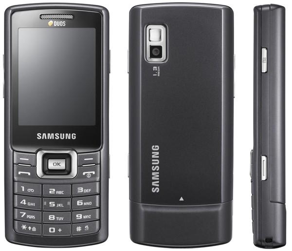 Samsung C5212: Cheap dual-SIM phone