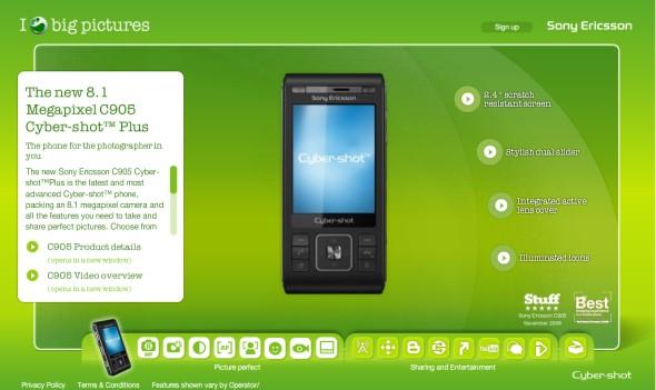 Megérkezett a Sony Ericsson C905 Plus