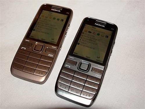 Купить Nokia E52 (металлик): цена смартфона Нокия