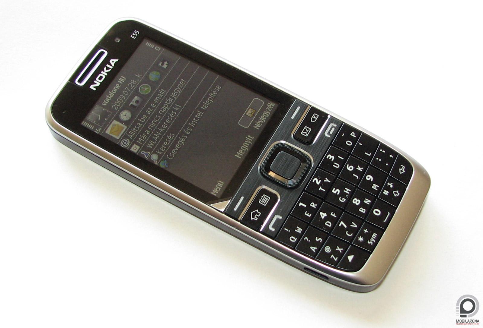 Nokia E55 USB Phonet