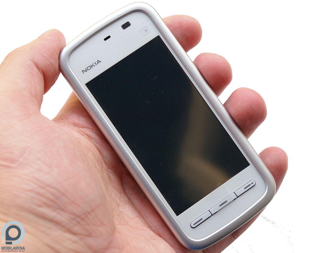Nokia 5230 - a legolcsóbb érintős okostelefon