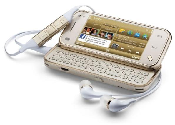 Bemutatkozott a Nokia N97 Mini Gold Edition - Mobilarena Okostelefon ...
