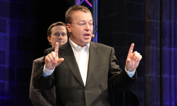 Stephen Elop at MWC 2011