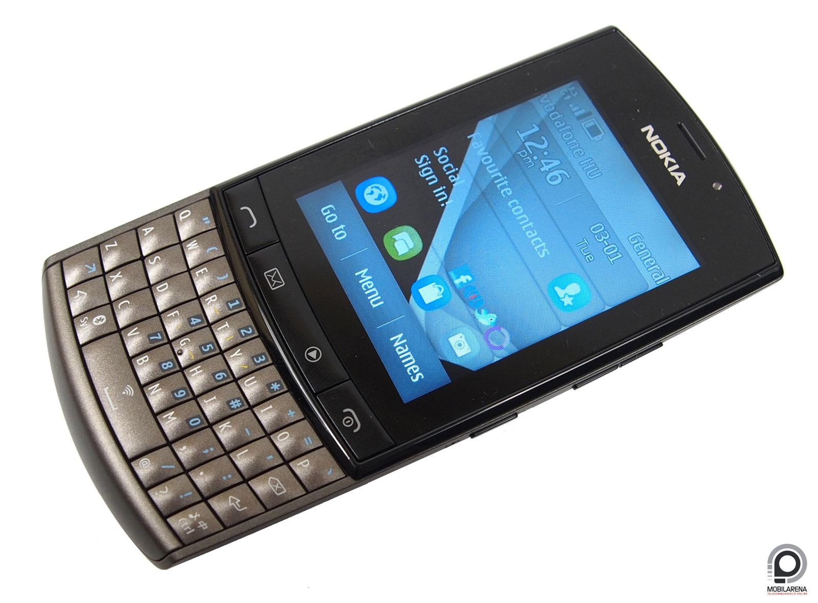 Nokia Asha 303 - oprendszer nélküli maximum