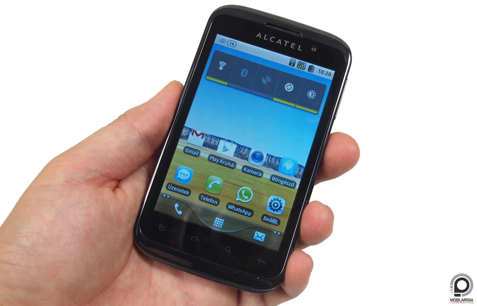Alcatel One Touch 991 Android Manager