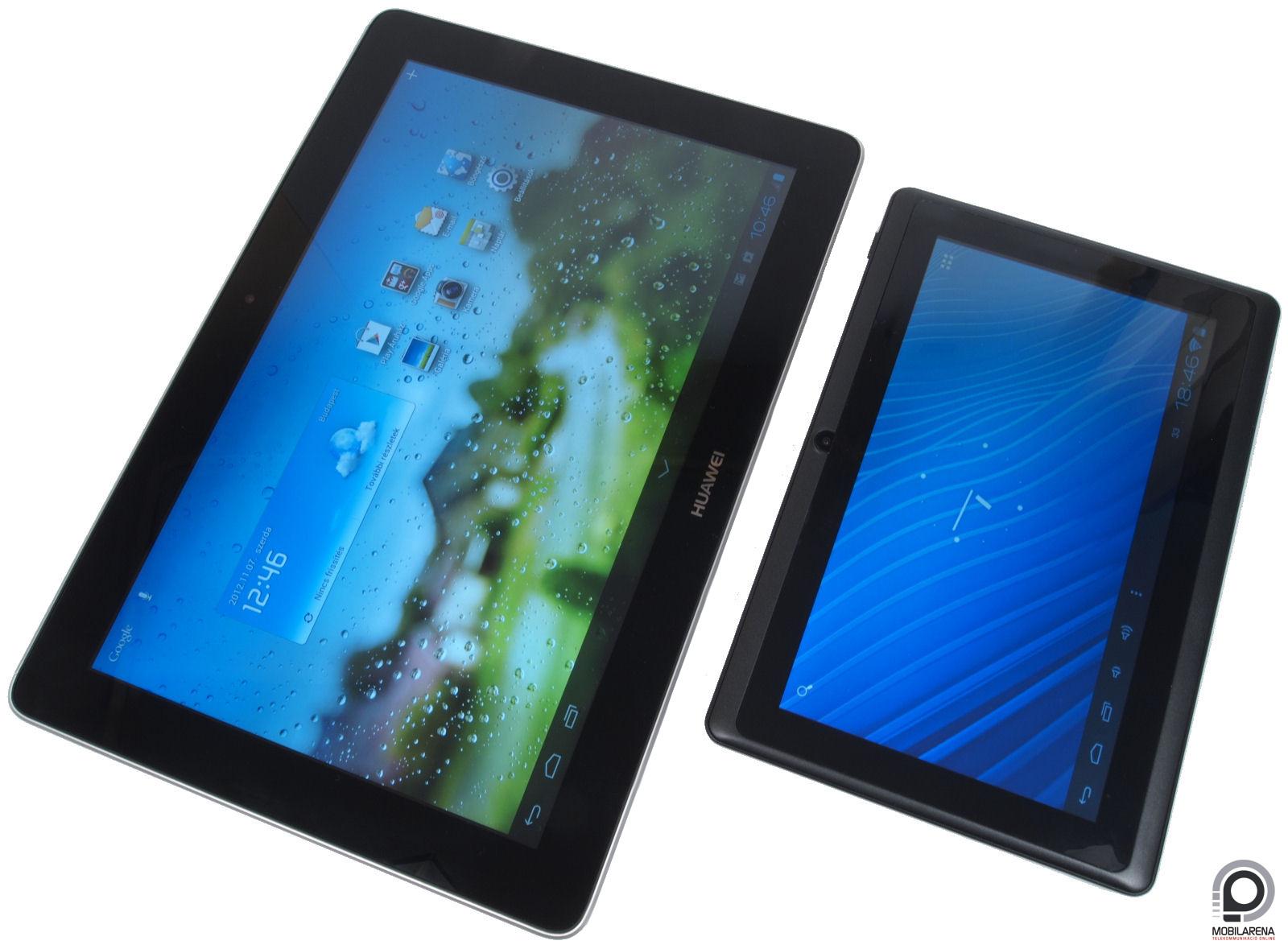 Huawei MediaPad 10 FHD - hazai pályán játszik