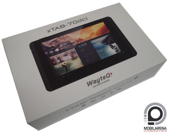 WayteQ xTAB-70dci