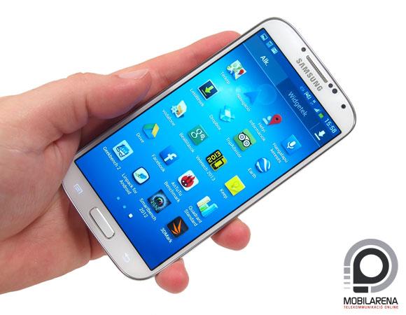 Galaxy S5 elképesztő képernyő felbontással