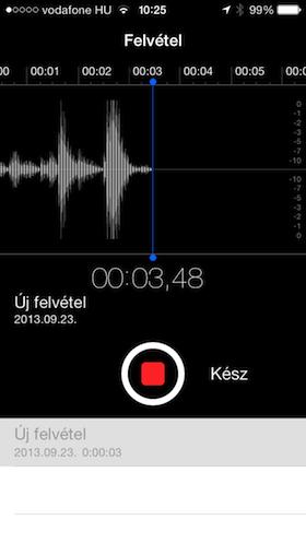 iPhone 5S screen shot