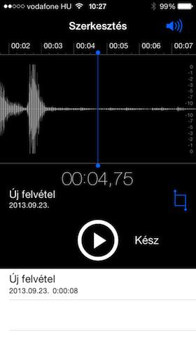 Phone 5S screen shot