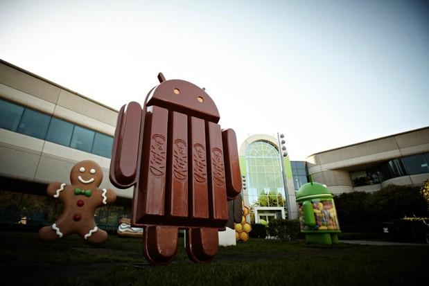 lépésdetektáló és  -számláló szenzorokat (is) támogat a  KitKat