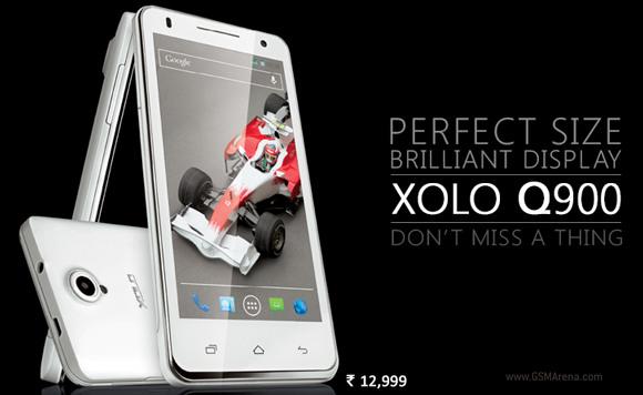 Xolo Q900 –  olcsó négymagos okostelefon