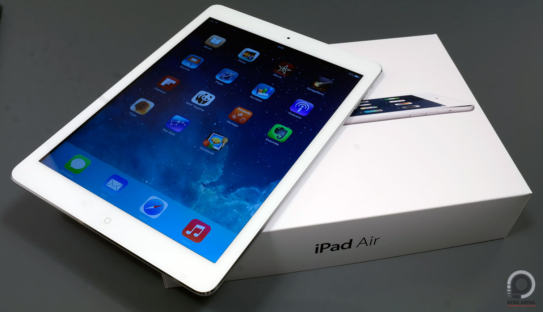 Apple Ipad Air Sz 225 Llj Fel Magasra Mobilarena Tablet Teszt