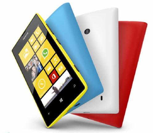 Tarol az olcsó Lumia 500-as széria