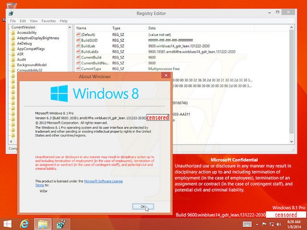 Windows 8.1 ráncfelvarrás hamarosan
