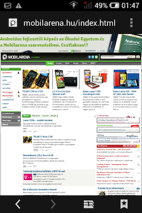 Alcatel One Touch Pop C1 screen shot