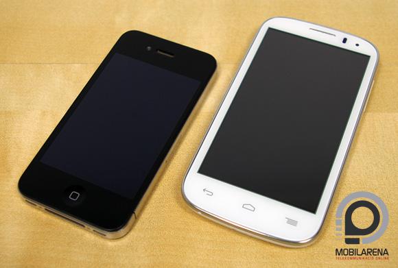 Iphone Se Vs Alcatel Pop 4