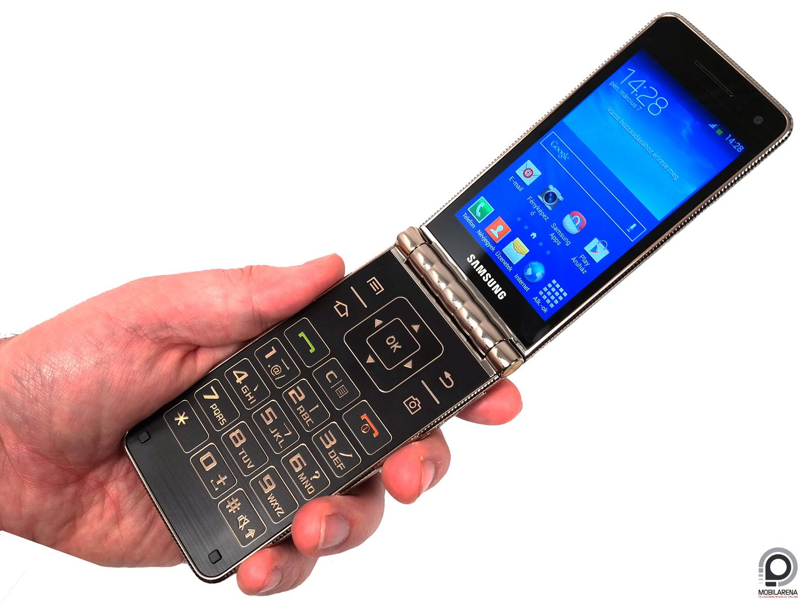 Samsung Galaxy Golden - tárt karokkal