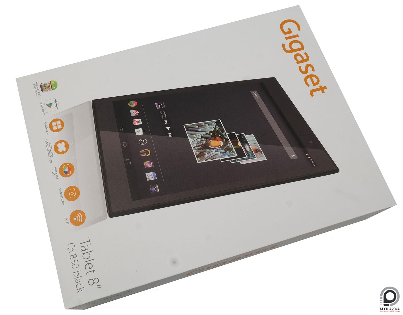 gigaset qv830 b rhov mehetsz vihetsz mobilarena tablet teszt. Black Bedroom Furniture Sets. Home Design Ideas
