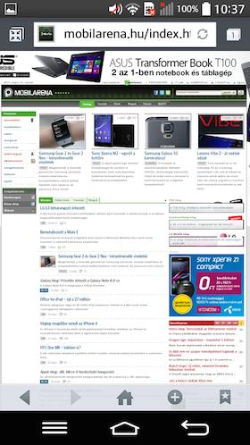 LG G2 mini screen shot