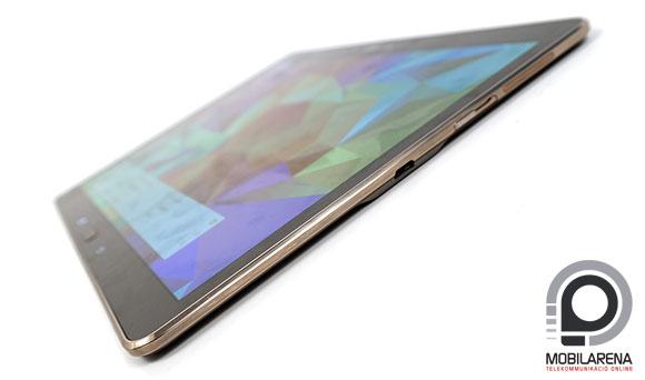 Samsung Galaxy Tab S 10.5 oldalról