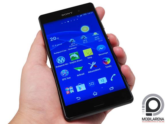 Vékonyabb és kényelmesebb a Sony Xperia Z3