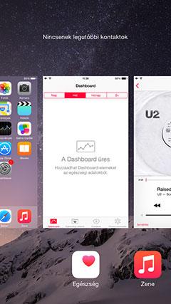Apple iPhone 6 multitasking