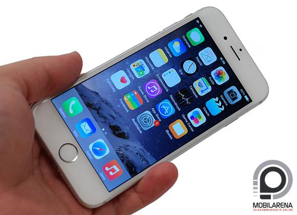 Apple iPhone 6 kézben