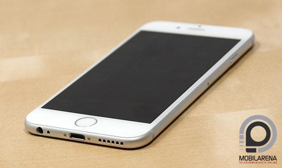 Apple iPhone 6 kikapcsolt kijelzővel