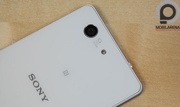 Sony Xperia Z3 Compact kamera