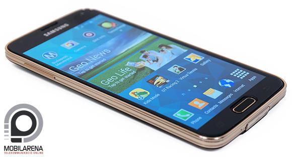A Samsung Galaxy S5 LTE-A az S5 kiköpött mása