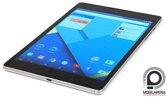 A Google Nexus 9 hátlapja műanyag