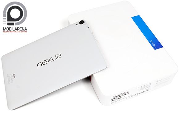 Hófehér dobozt kapott a Google Nexus 9