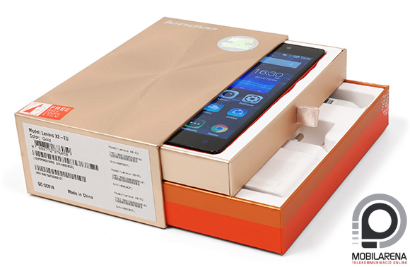 A Lenovo Vibe X2 doboza is a réteges formatervet követi