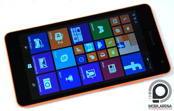Microsoft Lumia 535 Dual SIM előlap szemből