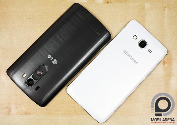 A Samsung Galaxy Grand Prime a megszokott dizájnt követi