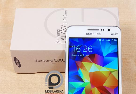 A Samsung Galaxy Grand Prime visszafogott dobozt kapott