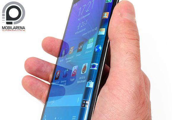 Fura és egyedi látvány a Samsung Galaxy Note Edge