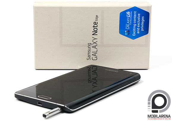 Visszafogott a Samsung Galaxy Note Edge csomagolása