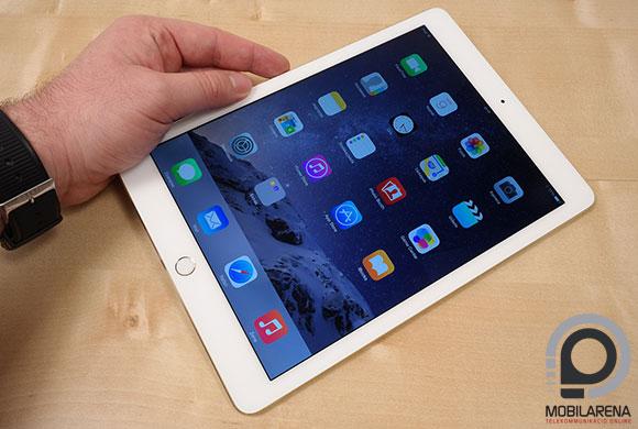 Az Apple iPad Air 2 pont akkora, mint elődje