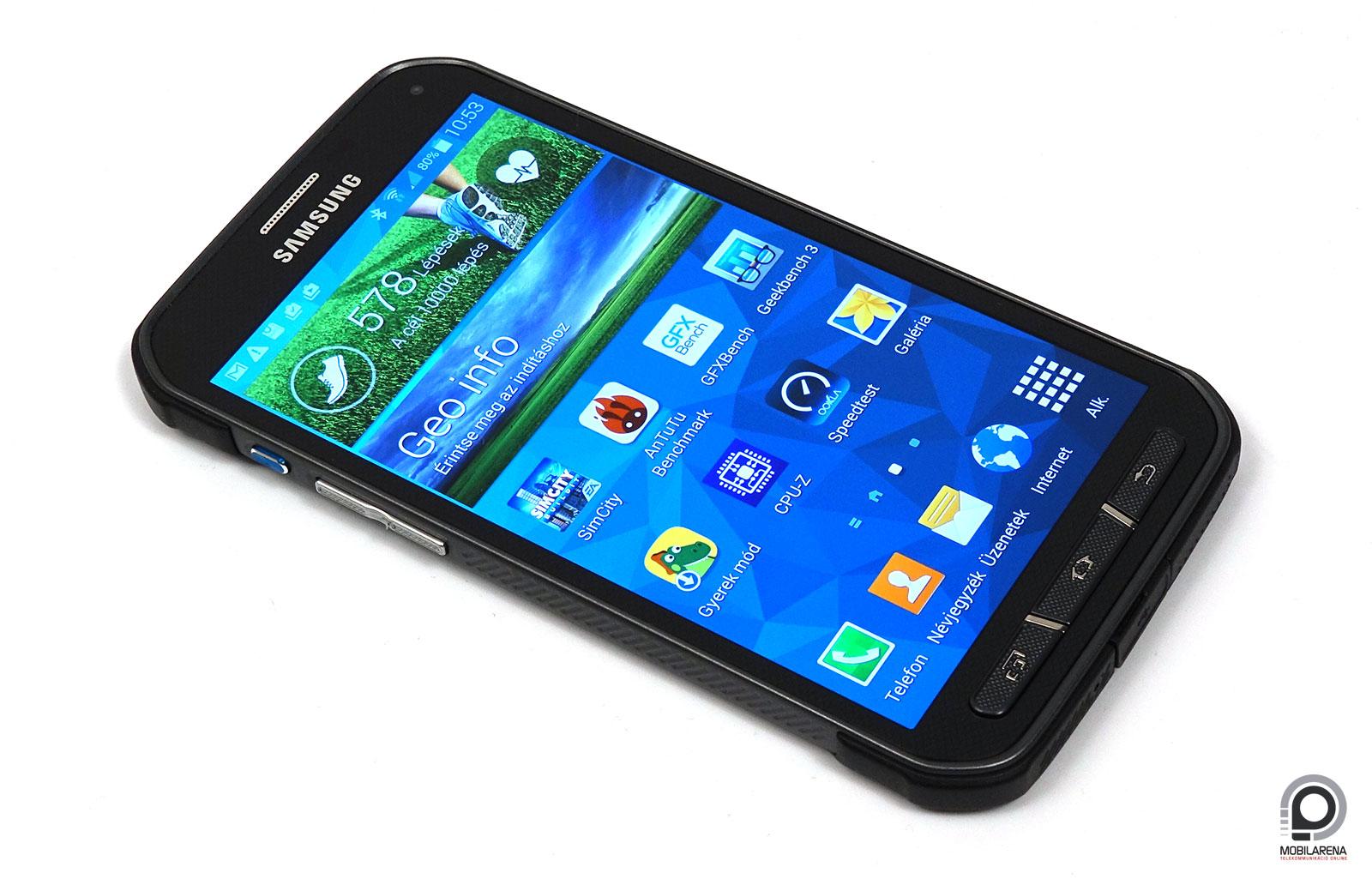 Samsung Galaxy S5 Active - kibiztosítva