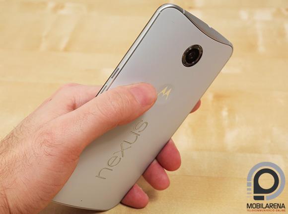Hatalmas készülék lett a Google Nexus 6
