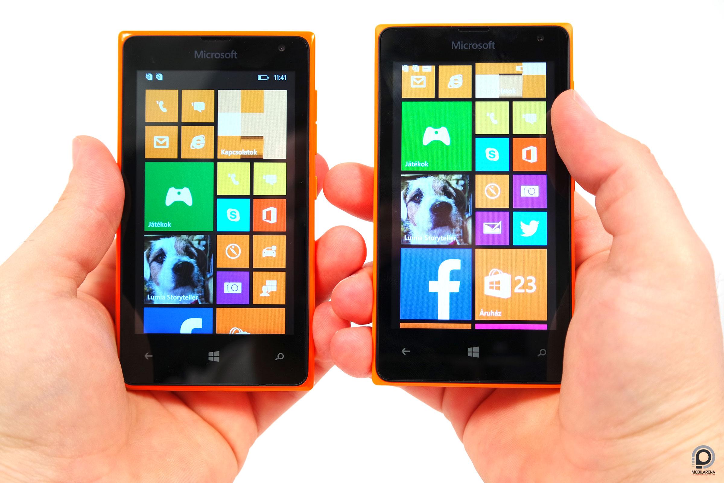 Microsoft Lumia 435 és 532
