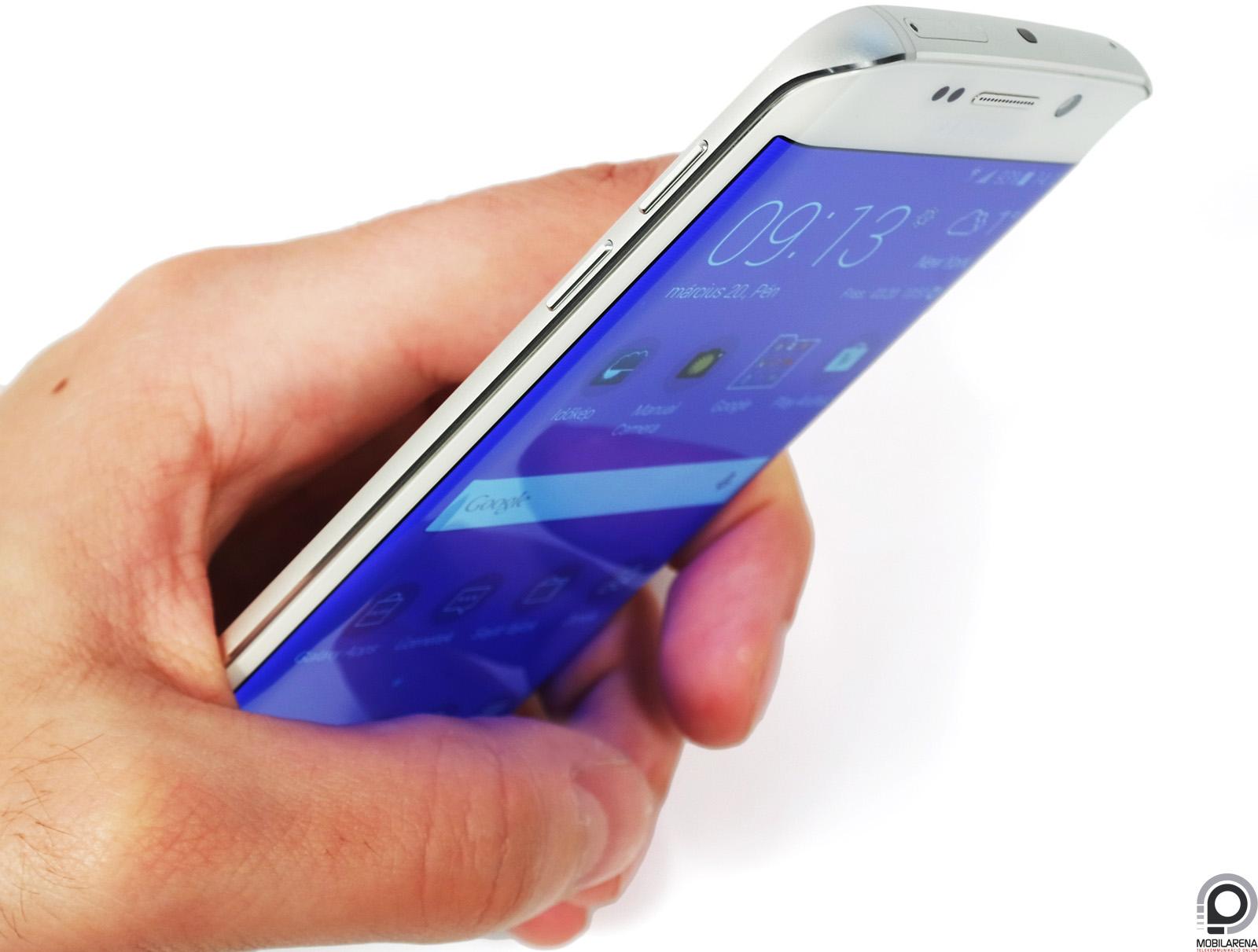 Különleges és meghökkentő Samsung Galaxy S6 edge formavilága 3a40e831aa